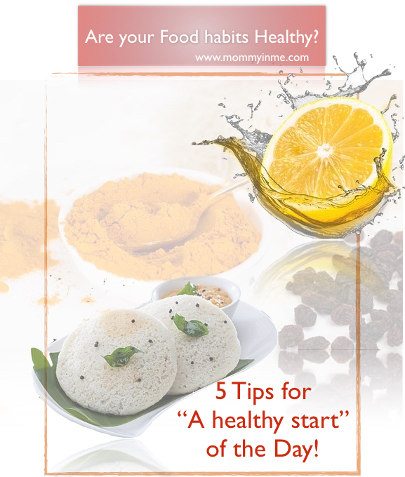 Are you binging upon healthy food? Here are 5 tips to start your day in absolutely healthy and energetic manner. Cut those extra fats and flabs with these right morning food routine and Dinner time routines. Read now to be healthy and Fat free #healthy #healthyfood #diet #morningroutine #breakfast #healthybreakfast #noobesity #fatfree #foodhabits