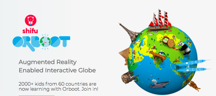 Looking for Christmas Gifts for Kids? Here is  an Orboot, an Augmented Reality Globe from Playshifu. It is completely fun, interactive and a great tool to help our kids explore the world. #Orboot #playshifu #augmentedreality #Christmasgift #christmasgiftforkids