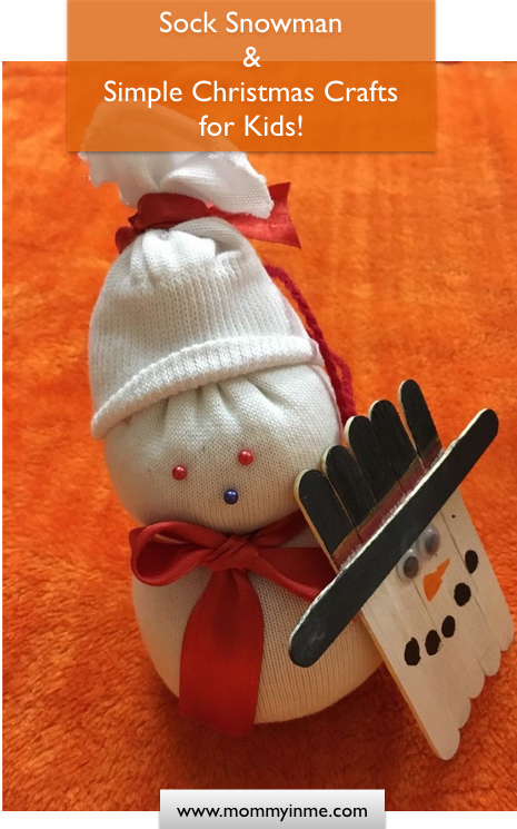 Read to know some Best easy and simpel Christmas Crafts for Toddlers and Preschoolers. Christmas crafts for kids, presenting Christmas Snowman , a sock snowman craft for kids. #snowman #christmasctafts #snowmancrafts #Christmas #craftsforkids #easycrafts