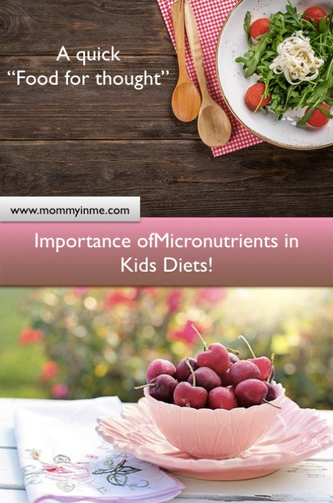 Importance of Micronutrients for children