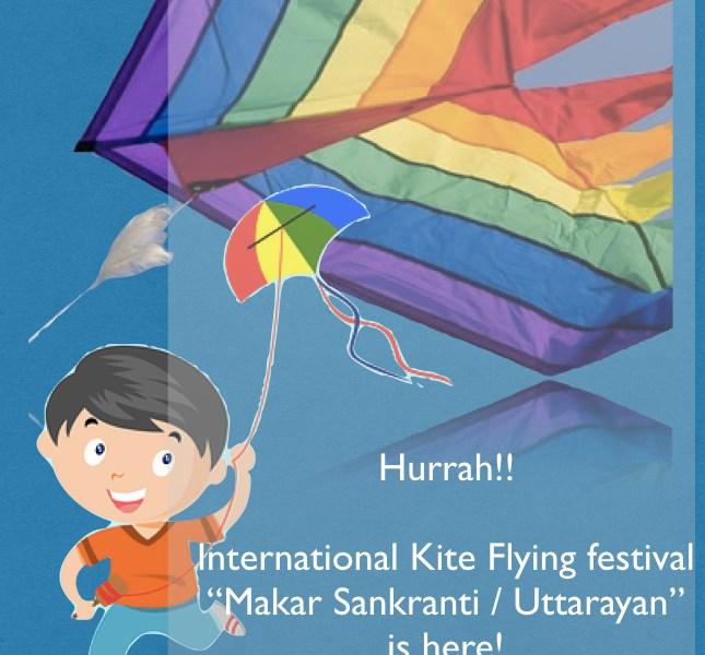 Makar Sakranti is here and why not celebrate this International Kite festival with kids? #kitefestival #makarsakranti #laddu #indianfestival