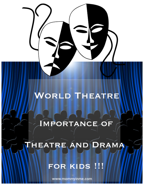 This World Theatre Day on 27th march, we are sharing with you the Importance of Theatre and Drama for kids, how do they contribute in the holistic development of a child #worldtheatreday #drama #forkids #theatre #dramaforkids