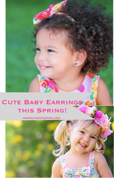 Cute baby earrings , earrings for babies with online shop #onlineshopping #babyearrings #earrings #cuteearrings