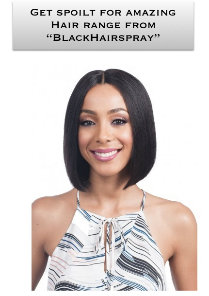 Get those amazing human hair wigs online with amazing variety from BlackHairspray. Ranging from braids to pony to buns to lace wigs, you'll get it all. #wigs #hairextensions #braids