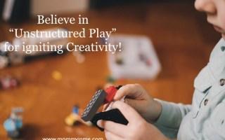 Its time to nurture creativity in kids. Best ways to foster creativity in children #creativity #imagination #fostercreativity #positiveparenting #creativechild #development #lego #freeplay
