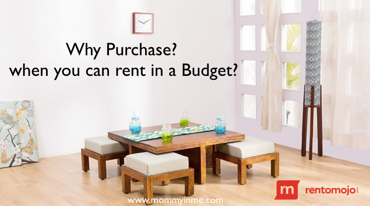 Rentomojo - Now rent your online furniture, dining table, appliances instead of buying. #rentomojo #rental #RMI