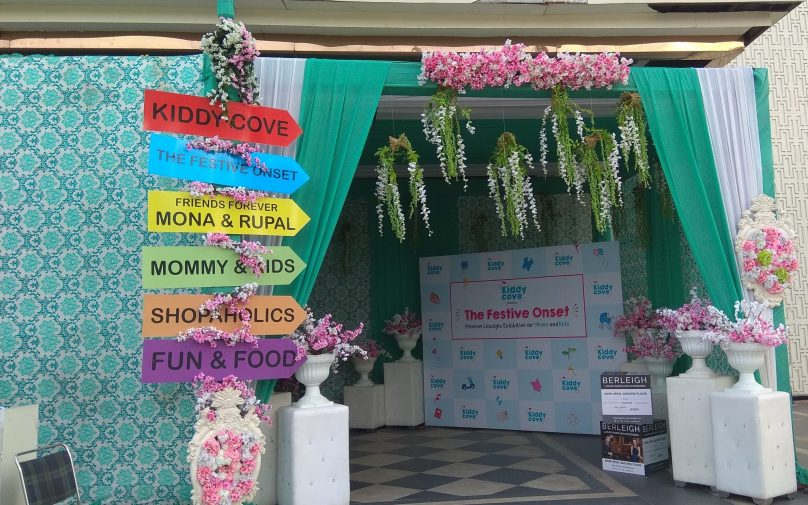 The recently concluded Kiddy Cove exhibition at Noida was a great shopping platform for mama's and kids. A really fun event at Noida for trendy moms. #exhibition #kiddycove #mumsandbabies #noida #event