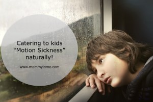 Natural remedies to prevent Motion Sickness in Kids