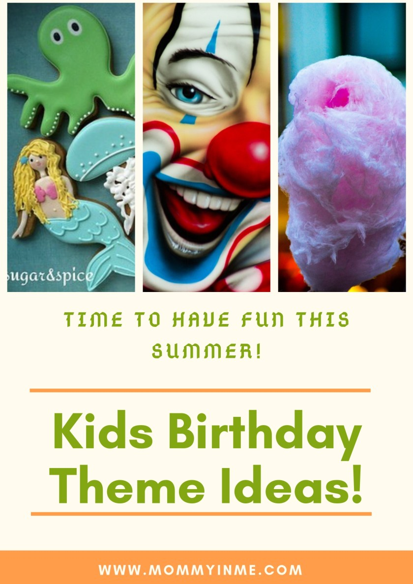 Planning for Kids Birthday party? Here are some unique Kids Birthday themes for you. Not just Birthday party, you can also plan these party during kids Summer vacations #summervacations #vacations #Legotheme #icecreamtheme #piratetheme #peppapigtheme #peppapig #messyparty #summerfun #waterfun