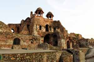 Old Fort : The historical Purana Quila of Delhi
