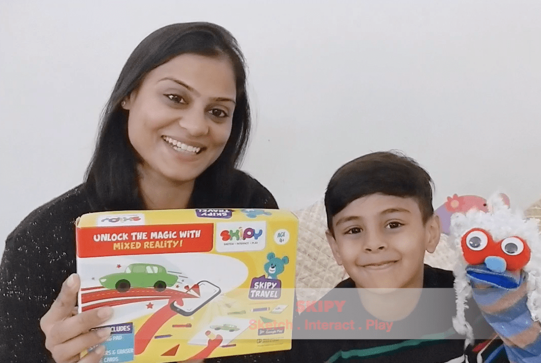 The Magic of SKIPY Kits: Mixed Reality Game for Kids