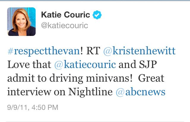 Couric tweet
