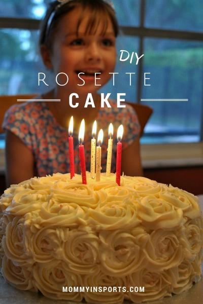 DIY Rosette Cake