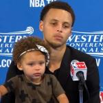 Debate About Curry's Cute Kid is Lame