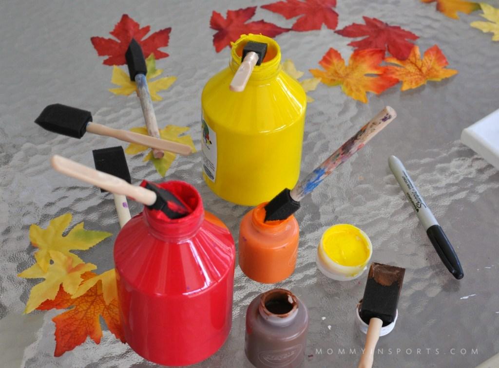 Thanksgiving paint