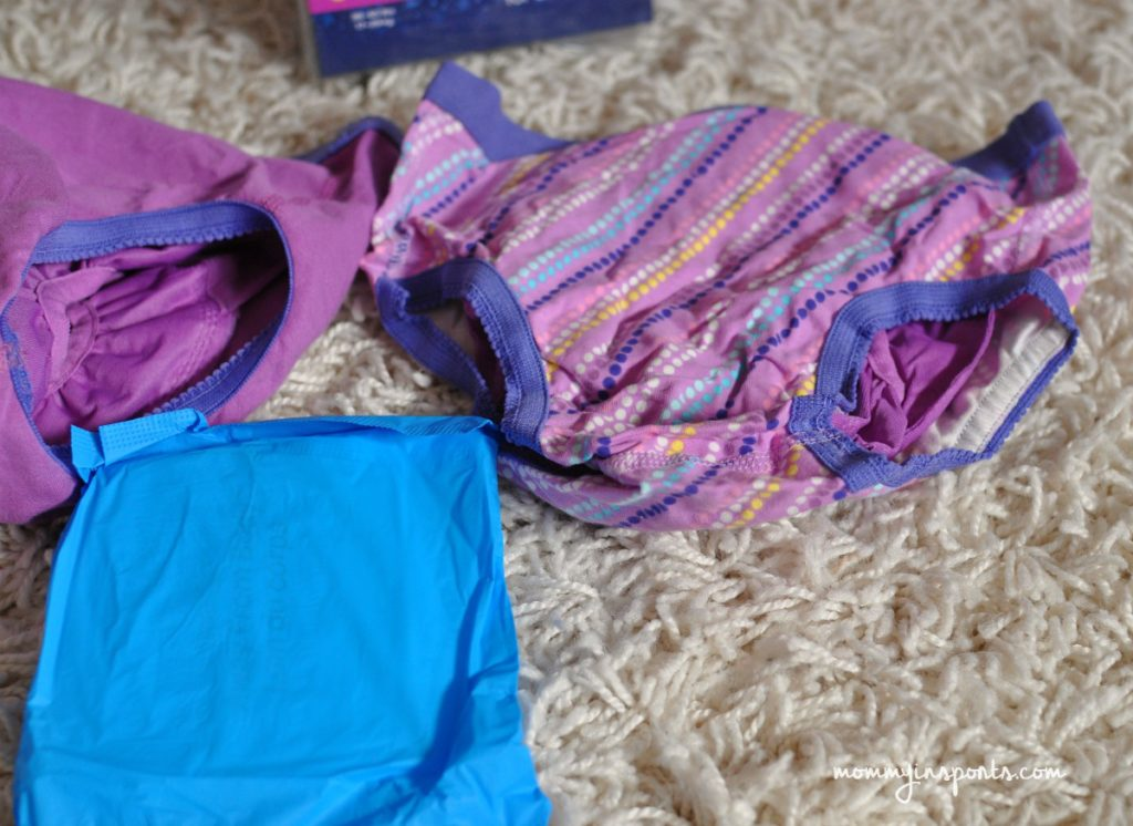 How to really manage nighttime wetting Closeup underwear