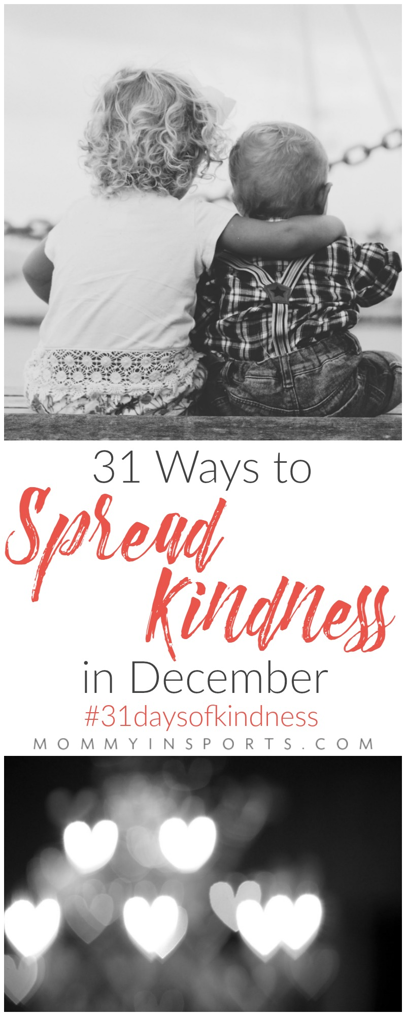 Are you feeling blue this holiday season? Let's raise everyone's spirits with these 31 ways to spread kindness in December. One for each day!