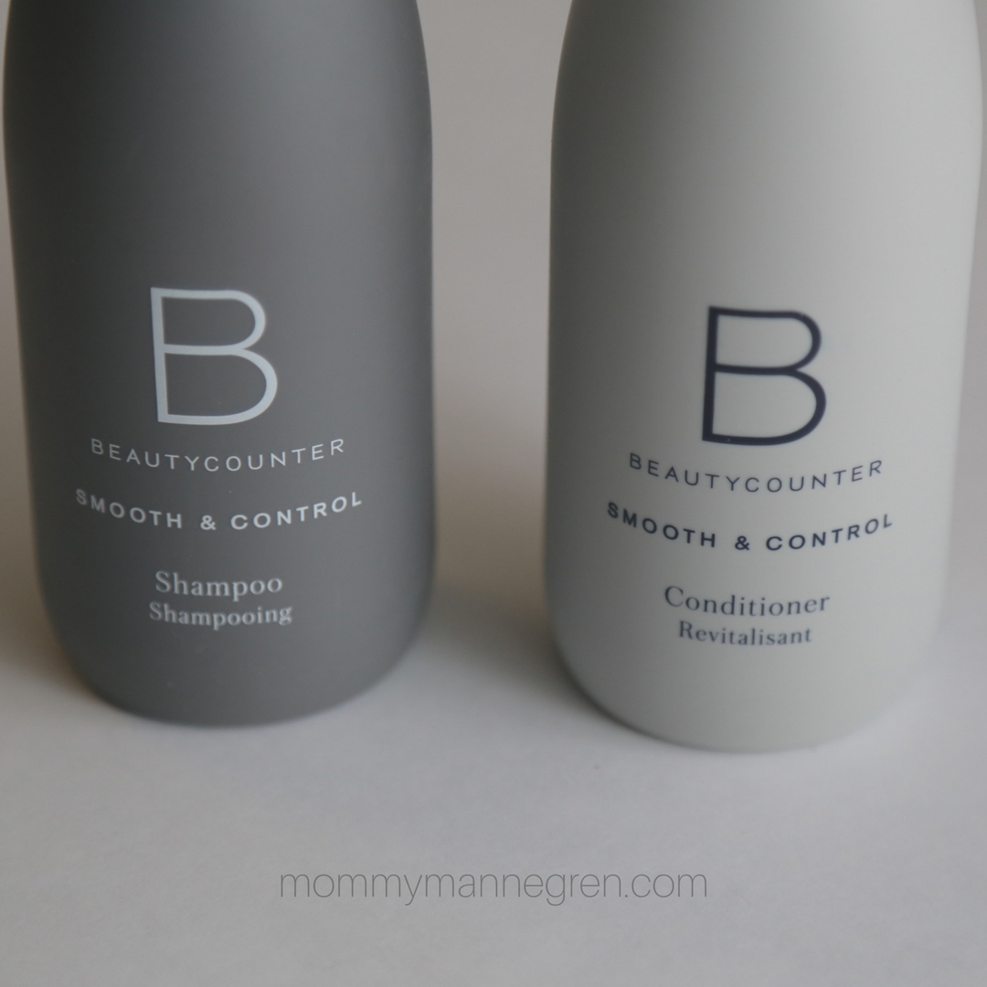 Beautycounter Smooth + Control Shampoo and Conditioner Review