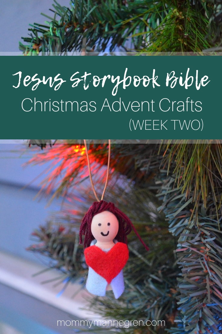 Jesus Storybook Bible: Christmas Advent Crafts Week 2