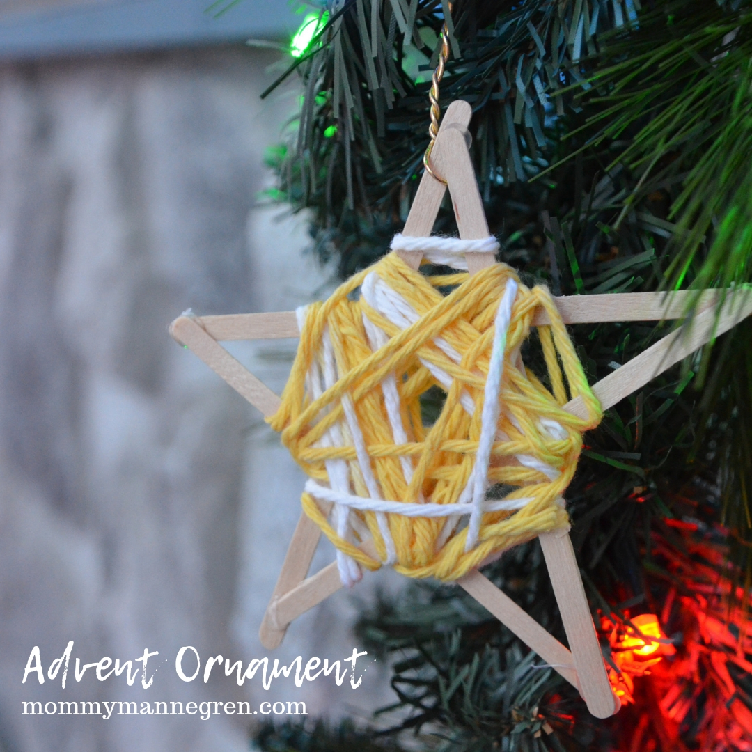 Advent Ornament: Star