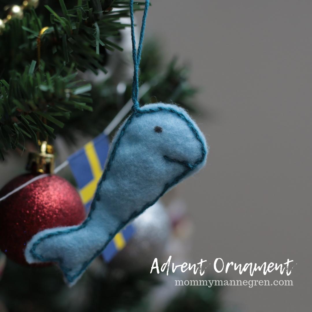 Advent Ornament: Jonah