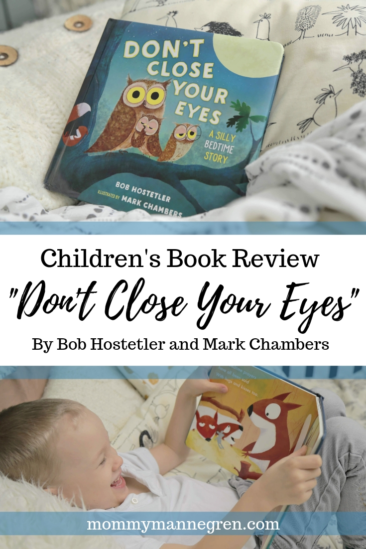 Don't Close Your eyes -- Children's Book Review