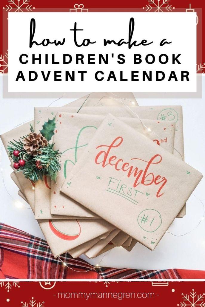 How to make a children's book advent calendar