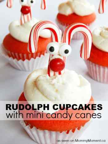Rudolph Cupcakes - Mommy Moment || Letters from Santa Blog
