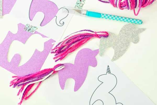 printable unicorn bookmarks # 25