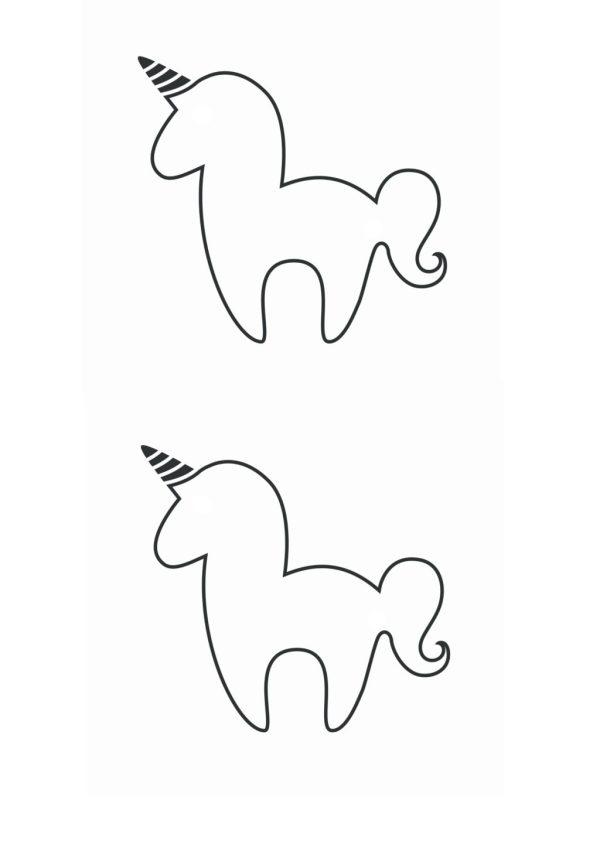 printable unicorn bookmarks # 33
