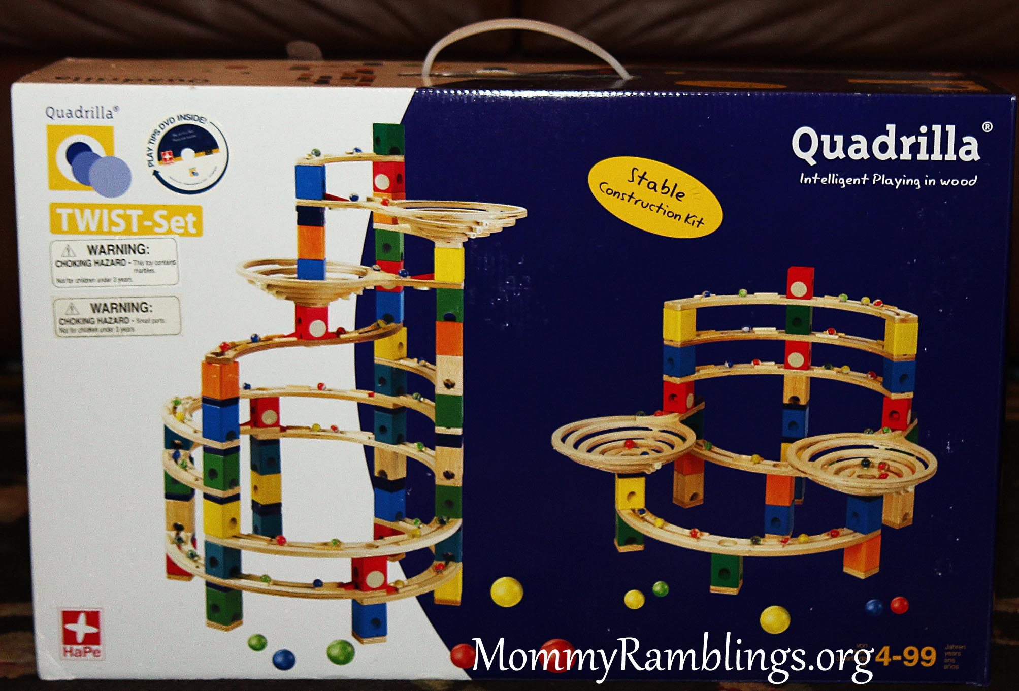 Hape Toys Quadrilla Twist Set Review And Bamboo Vehicle