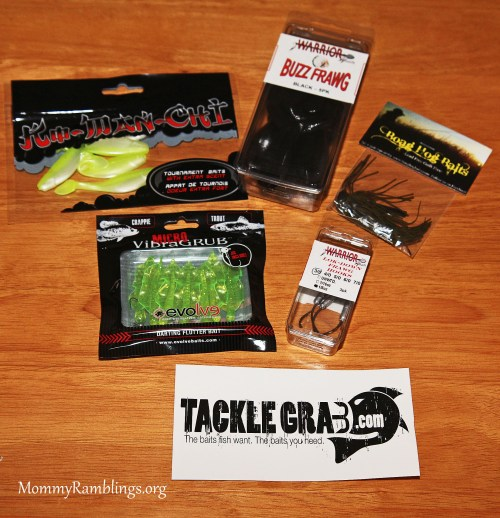 Tackle grab bait and tackle subscription service review for Free fishing tackle giveaway
