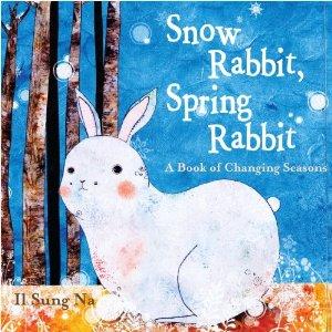 snow-rabbit-spring-rabbit