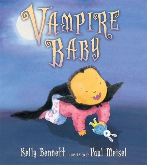 Vampire Baby #Halloween #CandlwickPress