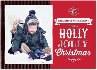 Holly Jolly Christmas Card Treat