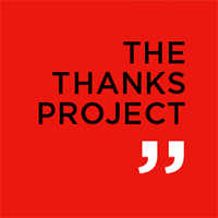 Thanks Project Logo #ThanksProject