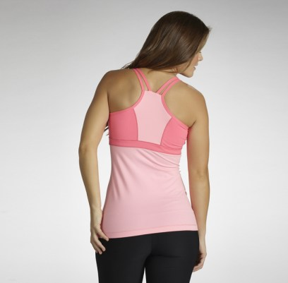 Marika Solid Intuition Tank Back View