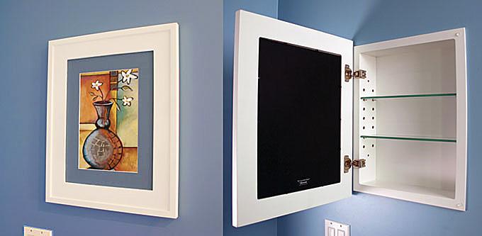 Concealed Cabinet design