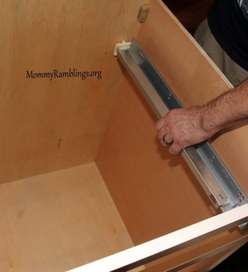 Soft Close Drawer Glide Installation