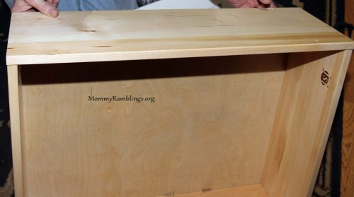 Drawers are fully assembled dovetail units and you just add the drawer front with four screws.