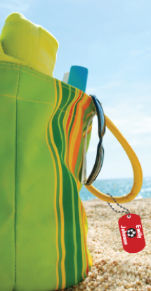 Beach-Bag-with-Metal-Tag