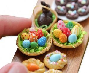 dollhouse mini eggs
