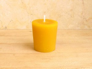 Pure Beeswax Votive Candle