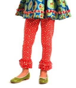 matilda Jane coral leggings
