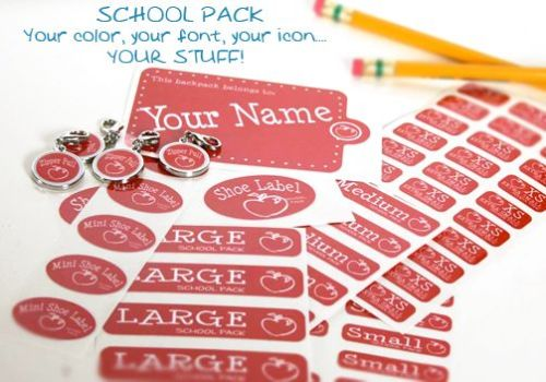 Label-Daddy-School Pack - pencils