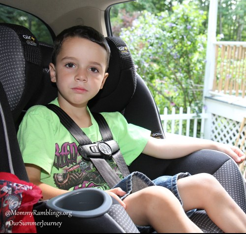 #OurSummerJourney-Safety 1st-- Advance 65 Air+ Convertible Car Seat features Air Protect + to keep children from 5-65 pounds safer in the car.
