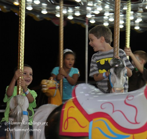 Carousel Fun-#OurSummerJourney