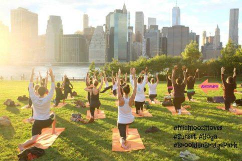 miz mooz yoga class label