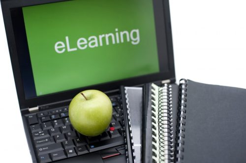 E-learning or distance learning concept
