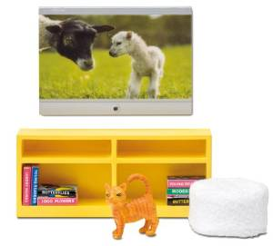 Lundby Smaland TV and Furniture set